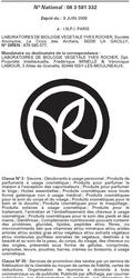 Nouveau logo Yves Rocher