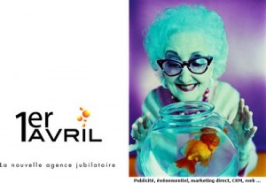 Page d'accueil du site 1eravril.com (archivé en décembre 2004)