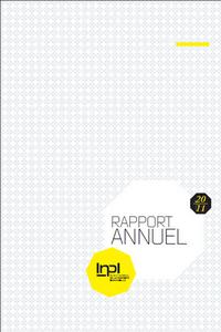 couverture du rapport annuel INPI 2011